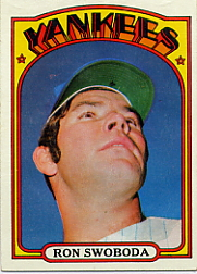 1972 Topps Baseball Cards      008       Ron Swoboda